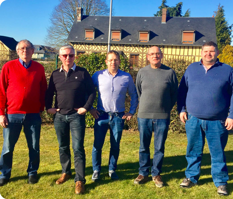 equipe de l'ASA Normandie